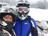 2016/01-16 Snowmobiling Priest Lake